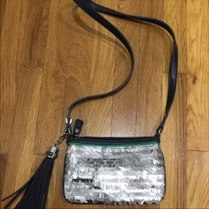 Juicy couture sequence shiny purse